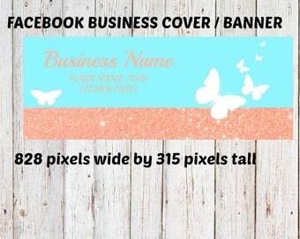 Facebook business banner, Facebook banner, Facebook cover, FB business banner, 828 pixels wide by 315 pixels tall