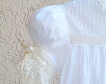 Handmade Custom Girls Heirloom Dress and Slip