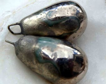 Bronzy Droplets Platinum Lustre