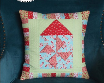 Home Sweet Pillow PDF Pattern