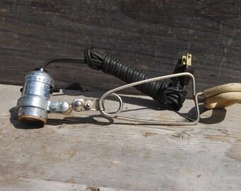 Vintage Leviton Clip-On Lamp