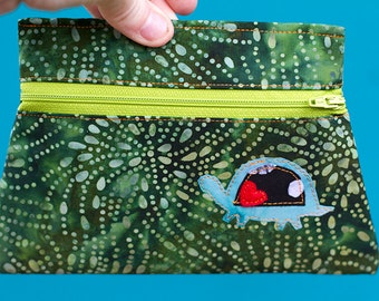 Turtle Totem Pouch
