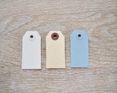 Shipping tags gift tags label tags paper gift tags white wedding favour tags
