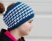 This & That Messy Bun Hat Crochet Pattern