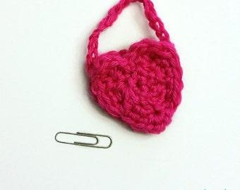 My Dolly Heart Purse Crochet Pattern