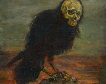 Original Skelecrow Art Print - Harbingers II Series - Death