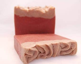 Dragon's Blood Goat's Milk Bath Bar - great unisex scent