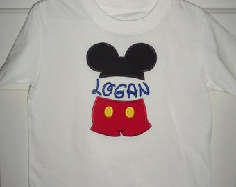 Mickey Mouse Clubhouse Personalized Shirt
