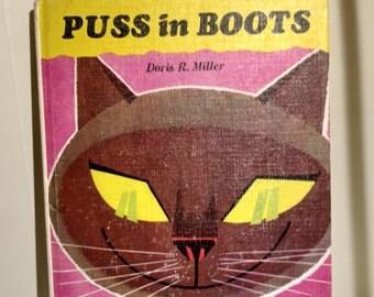 1966 Puss in Boots Retold by Doris R Miller