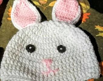 Bunny Hat & Diaper Cover