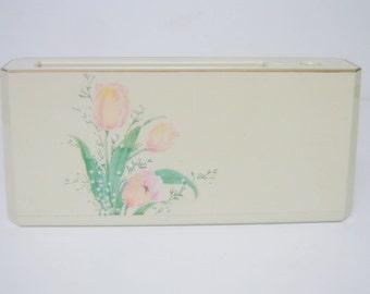 Otagiri Lacquerware Vintage Beige Desk Organizer