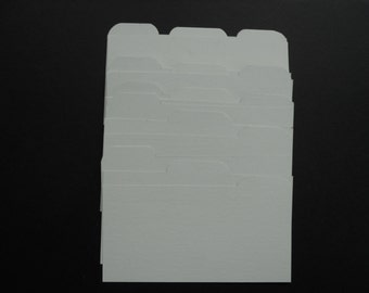 Cardstock Dividers for Both Sizes