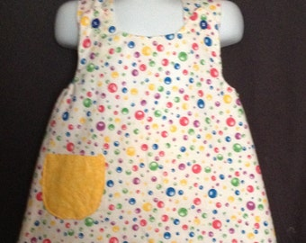 Baby girl summer clothes, OOAK, ready to ship