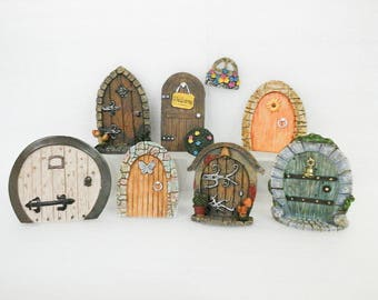Welcome Doors For Fairy Garden or Dollhouse
