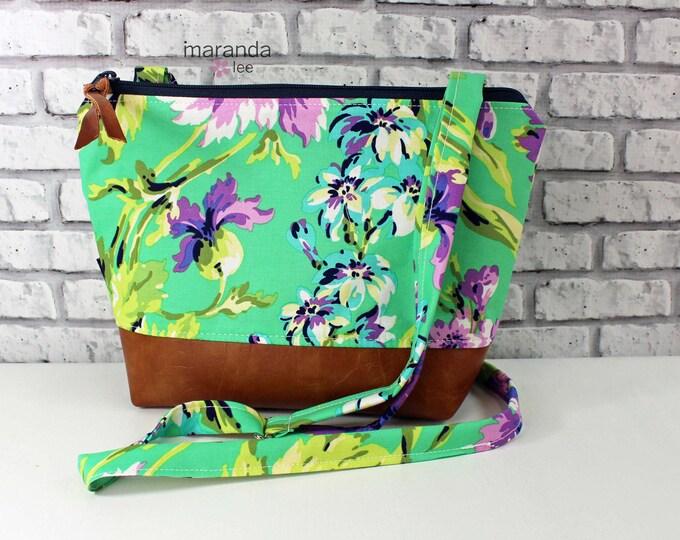 BRI Large Messenger Bag - Bliss Purple   - READY to SHIP
