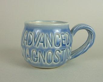 Chrysler Auto mobile - Blue Mug - ADVANCED DIAGNOSTICS