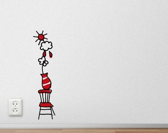 Wall Decal - The Red Chair