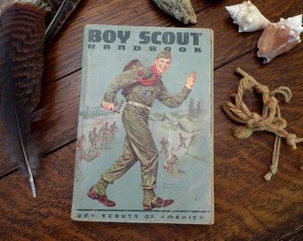 1962 Vintage Boy Scout Handbook
