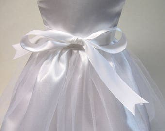 Communion/ Wedding Dress with Veil for Your 18 Inch Doll