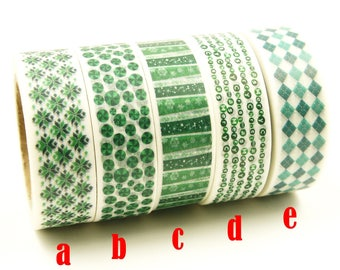 Liebeslied - Japanese Washi Masking Tape Set - 5 rolls - 11 Yard (No discount)
