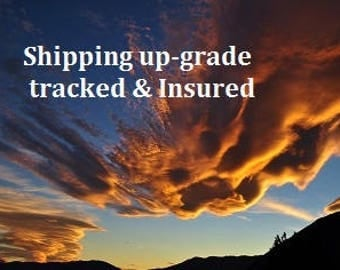 Shipping up-grade to Tracked & Insured