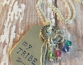 MY TRIBE Mothers Birthstone Necklace