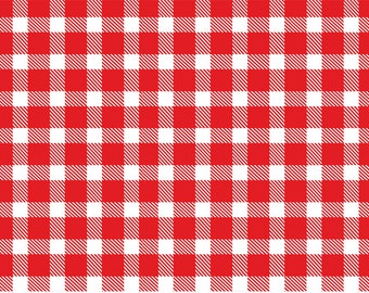 Red and White Buffalo Plaid Disposable Placemats - set of 12