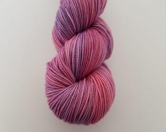 SPECIAL COLLABORATION, Slow (Falling Petals), 80/20 Superwash Fingering Sock Weight