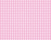 Candy Pink 1/8 Inch Small Gingham from Robert Kaufman's Carolina Gingham Collection - P-5689