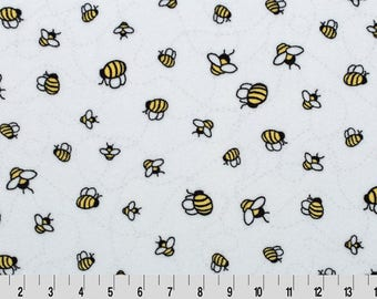 Bees-A-Buzz Cuddle Minky From Shannon Fabrics