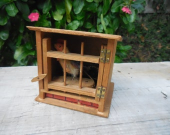 German Rooster Coop Toy