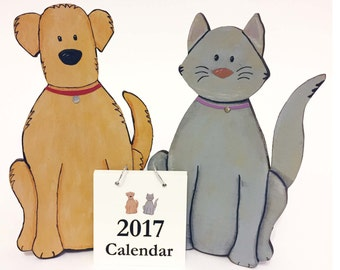 2017 Refill, Replacement, for Cat or Dog Calendar