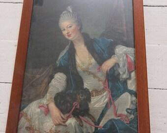 Rococo lady