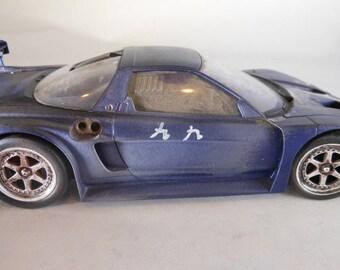 Honda Car,Classicwrecks,Scale Model Car,Junked Model,Rusted Wreck