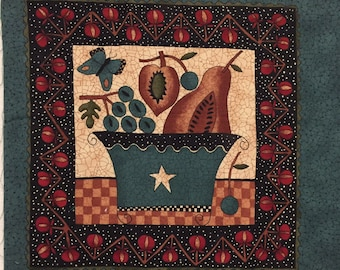 Cherry Hill Sampler by Kathy Schmitz - Moda fabric panel - OOP