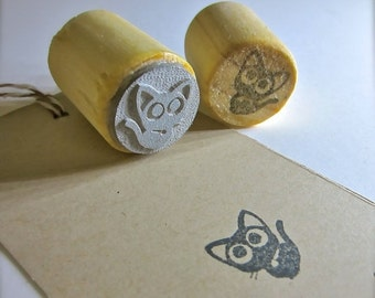 Cybermonday Paw Print Rubber Stamp Dog Paw Cat Paw By