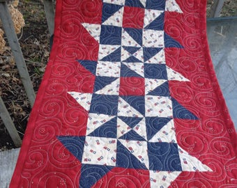 Patriotic Stars Runner, Friendship Stars 0320-01