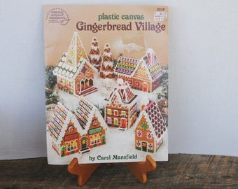 Plastic Canvas Gingerbread Village American School of Needlework Booklet