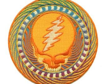 Grateful Dead Orange Sunshine Patch