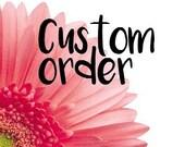 4 custom seashell coasters - round
