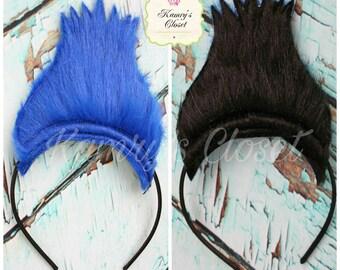 READY TO SHIP**in 3 days** Trolls Hair Headband, Trolls Embroidered Headband, Trolls Branch Hair Headband