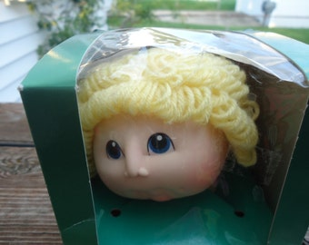 1984  Lot of Baby Doll Heads by Fibre Craft NOS
