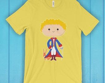Star Prince T-Shirt, Unisex Graphic T Shirt, Women's T Shirt, Men's T Shirt, available in 20 colors - Fantasy T-shirt, Book T-shirt