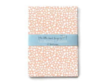 Dotted Travellers Notebook - Journal - Notebook - Exercise Book  - 60 Pages