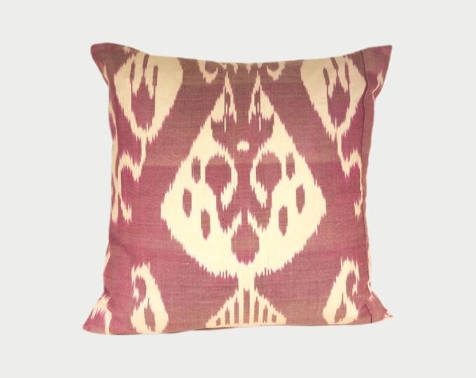 Ikat Pillow, Ikat Pillow Cover a432b, Ikat throw pillows, Designer pillows, Decorative pillows, Accent pillows