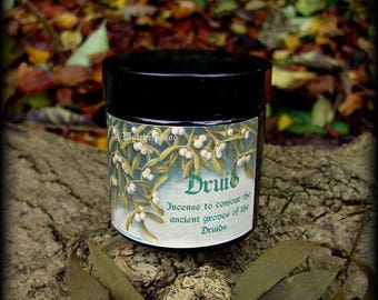Druid Incense 60ml Jar - Witchcraft, Magic, Druid, Celt,