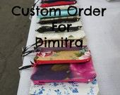 Custom Order, Coin Purses for Dimitra