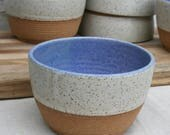 rustic cereal bowls/made-to-order
