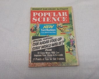 Popular Science April 1961 - Great Condition - Fascinating Articles and Hundreds of Vintage Advertisements