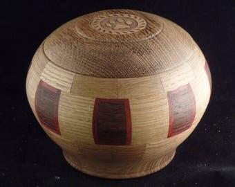 Pet Urn # 1185-70  Wenge Wood